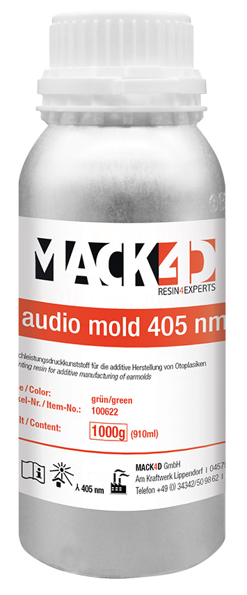 MACK4D - audio mold 405 nm